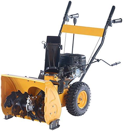 AGT Benzin Schneefräsen: Motorbetriebene Schneefräse SB-848.b, 4,8 kW, selbstfahrend (Motor Schneefräse)