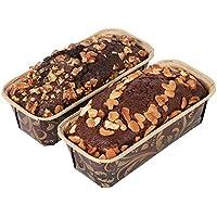 Ferns 'N' Petals Set of 2 Choco Walnut & Plum Dry Cake