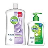 #6: Dettol Liquid Hand Wash Jar Sensitive 900 ml with Free Dettol Handwash 200 ml (Any Variant)