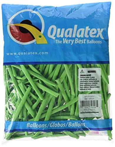 Qualatex - Globos de qualatex 260q verde lima (100 unid)