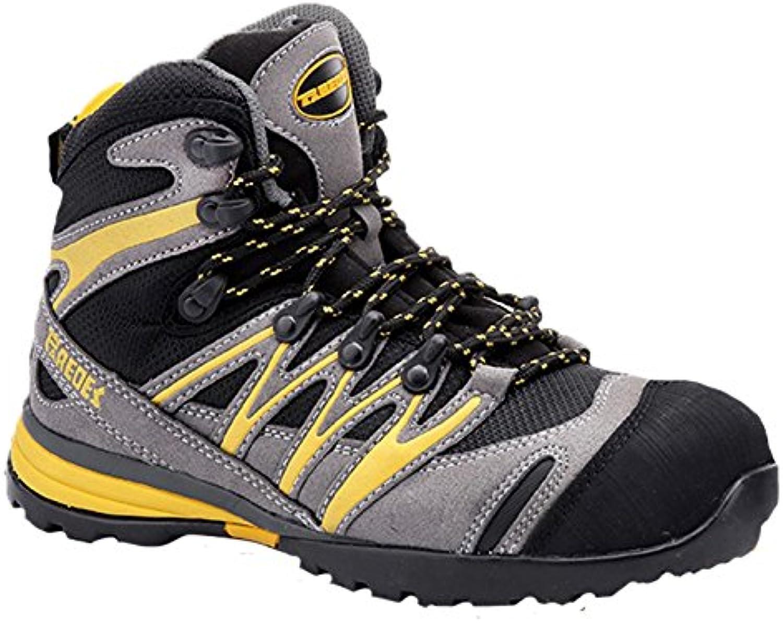 Paredes sp5028 Gr42 Hidrogeno – Zapatos de seguridad S1P talla 42 GRIS/NEGRO/AMARILLO