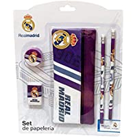 Real Madrid 0 Set con portatodo, 0 (CYP Imports GS-406-RM)