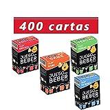 Glop 400 cartas - Juegos para Beber - Juego de Cartas para Fiestas -...