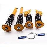maXpeedingrods Para Nissan Silva S14 200SX 240SX Amortiguadores Coilovers Shock Absorber Coils