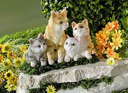 Bewegungs/Durchgangs Melder Katzen MIAU, Haus Zutritts Alarm Garten Deko