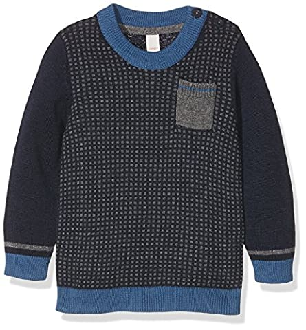 Esprit Kids Baby-Jungen Pullover Pulli, Blau (Marine 043), 92