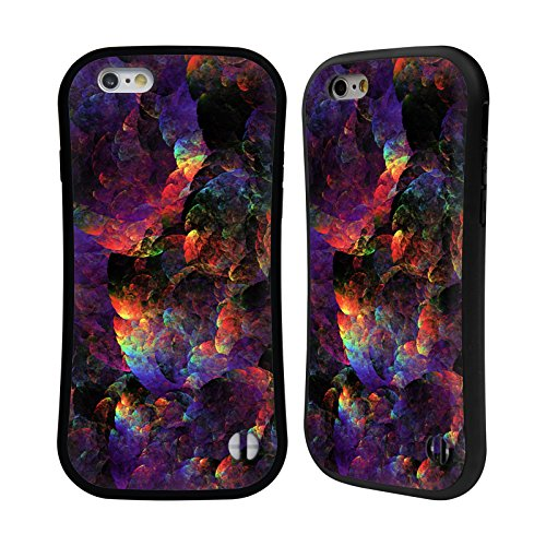 Ufficiale Andi GreyScale Verione 2 Luci Vivido Case Ibrida per Apple iPhone 6 Plus / 6s Plus Il Dragone Iridescente