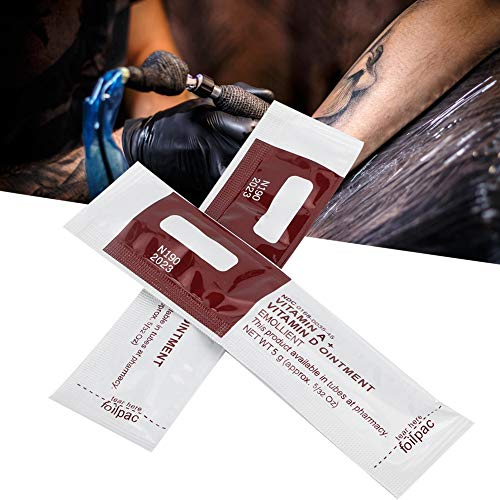 100 Teile/beutel Professionelle Tattoo Creme, Tattoo Repair, Tattoo Repair Creme Tattoo Nachsorge Salbe Reparatur Salbe Anti Narbe Tattoo Creme Nachsorge Recovery Salbe Creme Gel