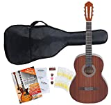 Classic Cantabile Guitare de Concert Acoustic Series AS-M Starter Set foncé