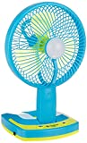 #9: Citra Jy Super 5590 Powerful Rechargeable Fan With 21Smd Led Lights, Assorted