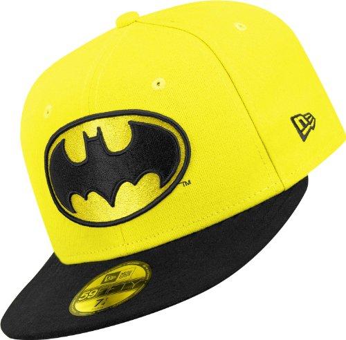 New Era Cap Character Basic Batman Gelb
