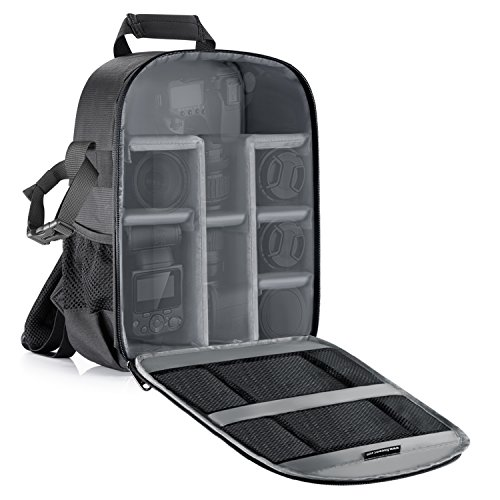 Neewer Camera Bag Waterproof Shockproof Partition 11x6x14 inches/27x15x35 centimeters Protection Backpack
