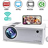 Best Android Projectors - Wireless Video Projector, FAERSI 2800 Lumens Wifi Mini Review