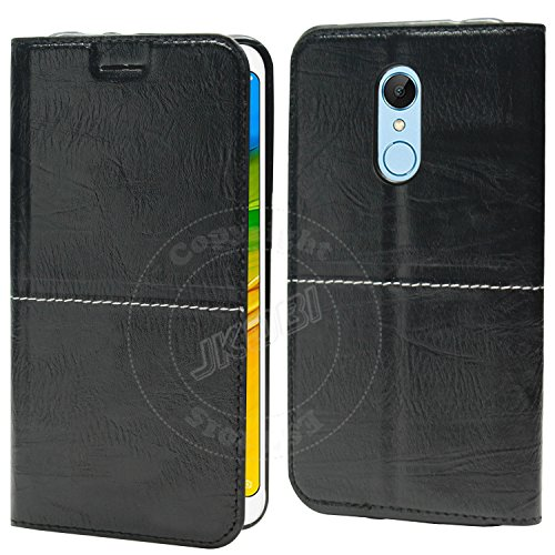 0aa3d55d9d1 Jkobi® WoodFeel Leather Wallet Flip Case Cover For Xiaomi Redmi Note ...