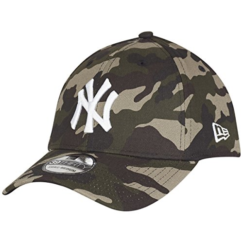 New Era Herren Caps / Flexfitted Cap MLB League Essential NY Yankees 39Thirty, Camouflage, Large / X-Large -