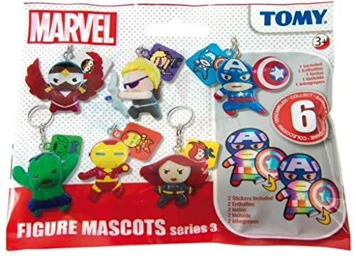Tomy - T8884EU1 - Figurine Dangler Marvel N°3 - Spécial Avengers - Modèle Aléatoire
