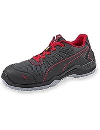 the best attitude c2051 af377 Puma 644200.45 Chaussures de sécurité Fuse TC Red Low S1P ESD SRC Taille  45, ...