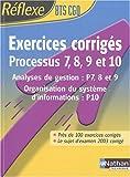 Intégrer la fonction publique - Exercices corrigé, P7 à P10 - BTS CGO