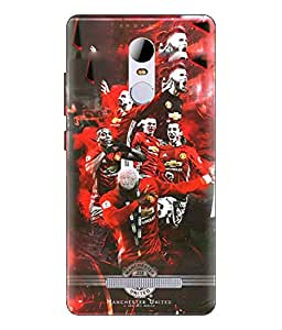 Gionee S6S Manchester United Image Printed Back Cover Hybrid Strong Polycarbonate Hard Case Cover With Premium Quality and Matte Finish by Print Vale