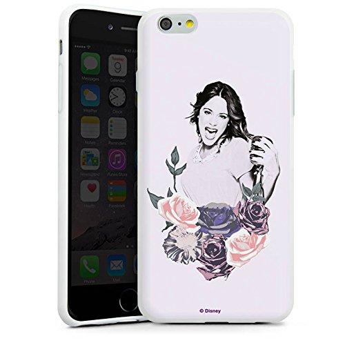 Apple iPhone X Silikon Hülle Case Schutzhülle Disney Violetta Geschenk Merchandise Silikon Case weiß