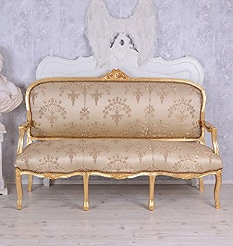French Seating Bench Antique Sofa Baroque Sofa Saloon Furniture Baroque Palazzo Exclusive