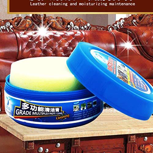 Hunpta Crème de nettoyage multifonction pour cuir bleu