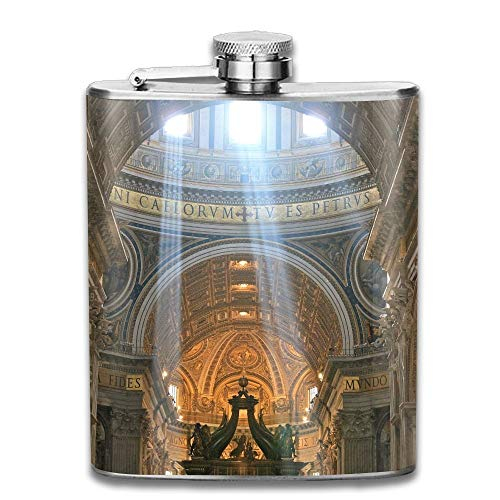 Rghkjlp Crepuscular Rays at Noon Women Portable Vodka Flask Bottle