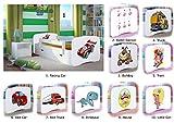 Children's Beds Home Einzelbett BabyDreams - Für Kinder Kinder Kleinkind Junior 140x70 160x80 180x80 MIT SCHUBLADEN und MIT Foam MATRATZE Inklusive (Weiß, 180x80)