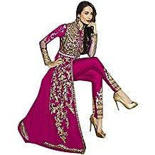 Pink color custome to measure Personalizado para medir 32-44 ethnic Lehenga Choli Sari Dress