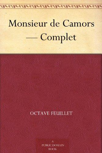 Couverture du livre Monsieur de Camors - Complet