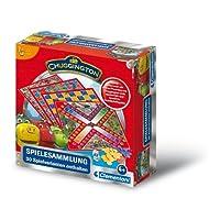 Clementoni-699209-Chuggington-Spielesammlung-30-Spielvarianten Clementoni 69920.9 – Chuggington-Spielesammlung – 30 Spielvarianten -