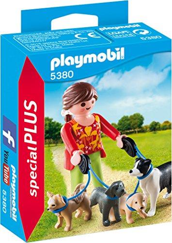 PLAYMOBIL 5380 - Hundesitterin (Collie Hund Figur)