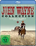 John Wayne Collection - 3 Filme mit über 260 Minuten Laufzeit (Höllenfahrt nach Santa Fe, Goldfieber in Sacramento, Flying Fighter) [Alemania] [Blu-ray]