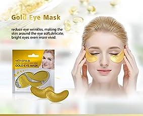 Mond'sub Crystal Collagen Gold Eye Facial Masks (8g) - Set of 20