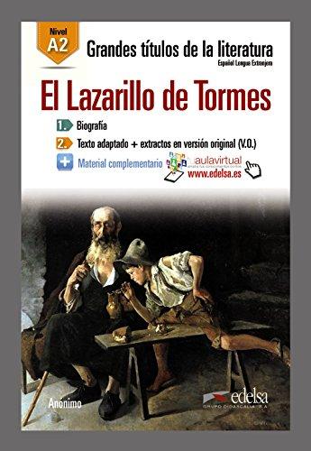 GTL A2 - El Lazarillo de Tormes (Lecturas - Jóvenes Y Adultos - Grandes Títulos De La Literatura - Nivel A2)