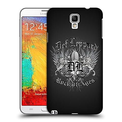 Offizielle Def Leppard Rock Of Ages Design Ruckseite Hülle für Samsung Galaxy Note 3 Neo