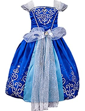 Ninimour Prinzessin Kleid Grimms Märchen Kostüm Cosplay Mädchen Halloween Kostüm