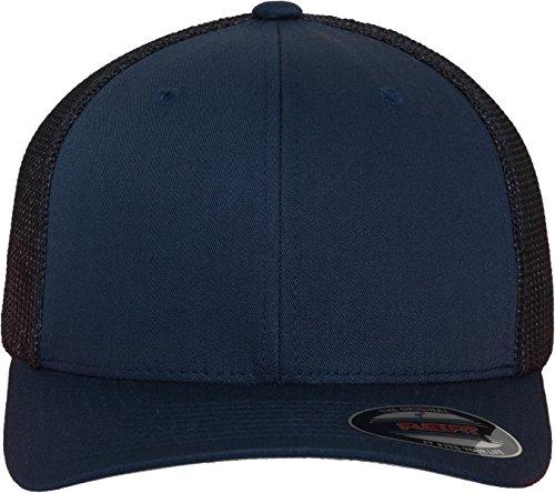 Flexfit Erwachsene Mütze Mesh Trucker blau (Navy)
