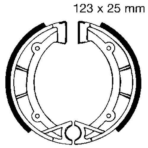 EBC Bremsbacken + Fed f. Hercules Supra 50 4 uvm. 922 5050953100673 Motorrad 1984 Supra