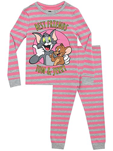 Copripiumino Tom E Jerry.Tom Jerry Pijama Para Ninas Tom Y Jerry Ajuste Cenido 6 7 Anos