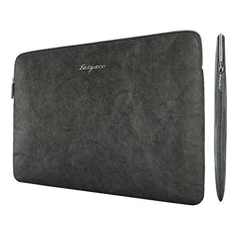 Neue 13 Zoll MacBook Pro Touch Bar Tyvek Tasche, EasyAcc Ultra-schlanke Tasche 13'3 MacBook Air iPad Pro 12.9 Hülle Ultrabook Laptoptasche für 13,3 Zoll MacBook Air/ Pro Retina Sleeve Hülle - Grau