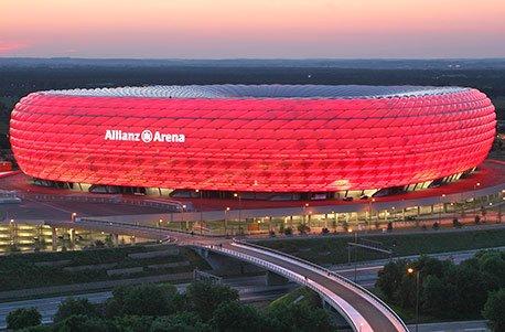 Jochen Schweizer Geschenkgutschein: Fußball-Fantage in München für 2 9