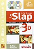 nelson frank le slap a la basse en 3d bass guitar book cd dvd french