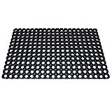 Festnight 2 STK. Ringgummimatte Gummi Ringmatte Schmutzfangmatte Gummimatte 22 mm Dicke 50 x 80 cm