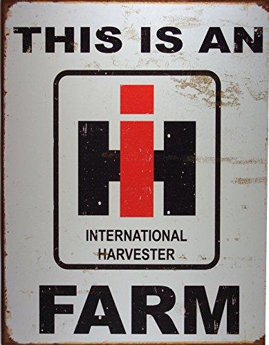 International Harvester Farm Blechzeichen (de) -