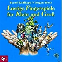 Lustige Fingerspiele für Klein und Groß, 1 CD-Audio