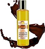 Aceite de Masaje de Chocolate 100% Natural - Relajación y Después del baño 200 ml - made in France