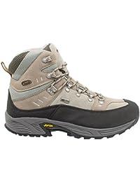 KEFAS - Zapatillas de ante para hombre, color Amarillo, talla 35.5
