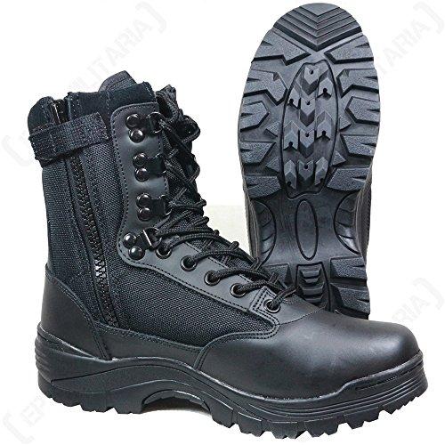 Mil-Tec Tactical Boots Zipper schwarz Gr.48