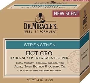 Dr. Miracles Hot Gro Cheveux et le cuir chevelu Traitement Super 113g/113,4gram